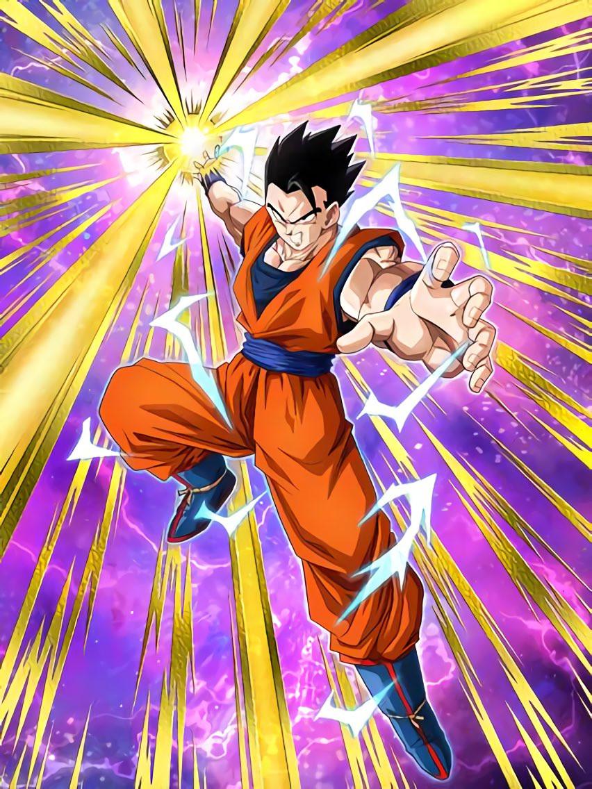 Renewed Determination Ultimate Gohan Dragon Ball Z Dokkkan Battle