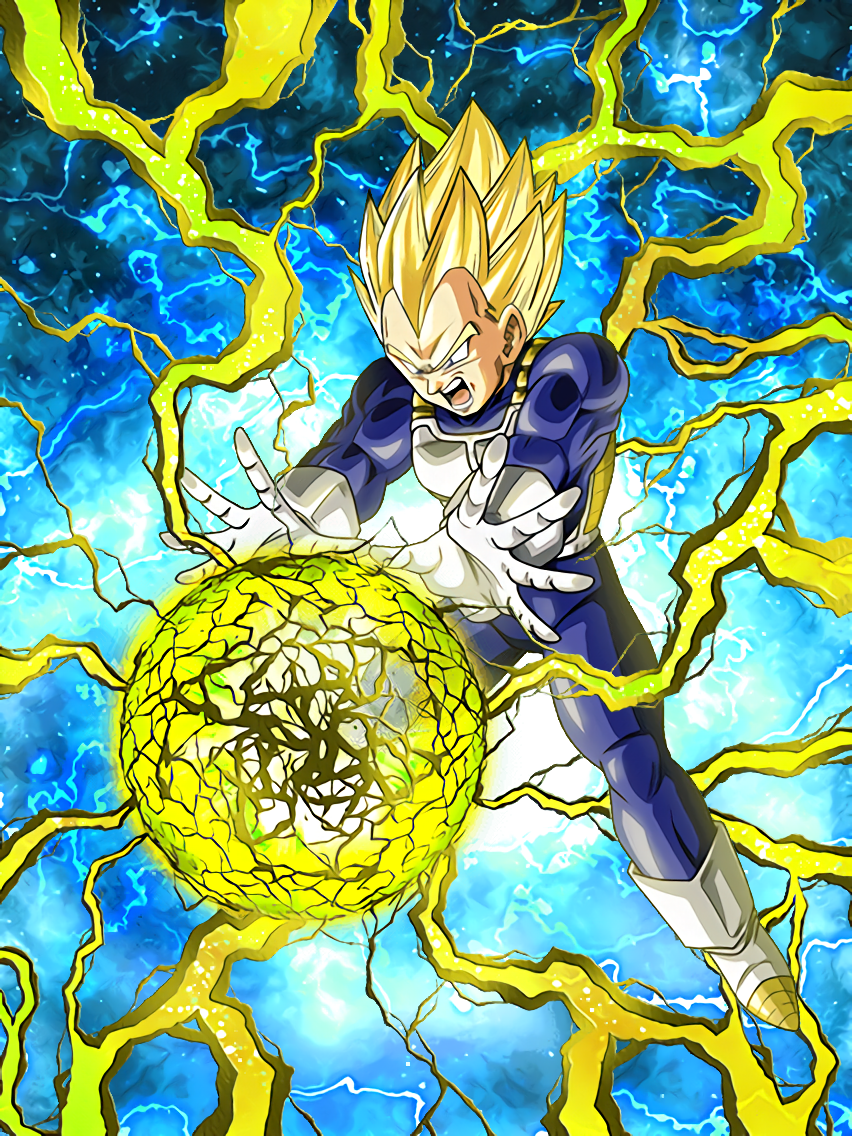 Willing To Fight Super Saiyan Vegeta Dragon Ball Z Dokkkan Battle