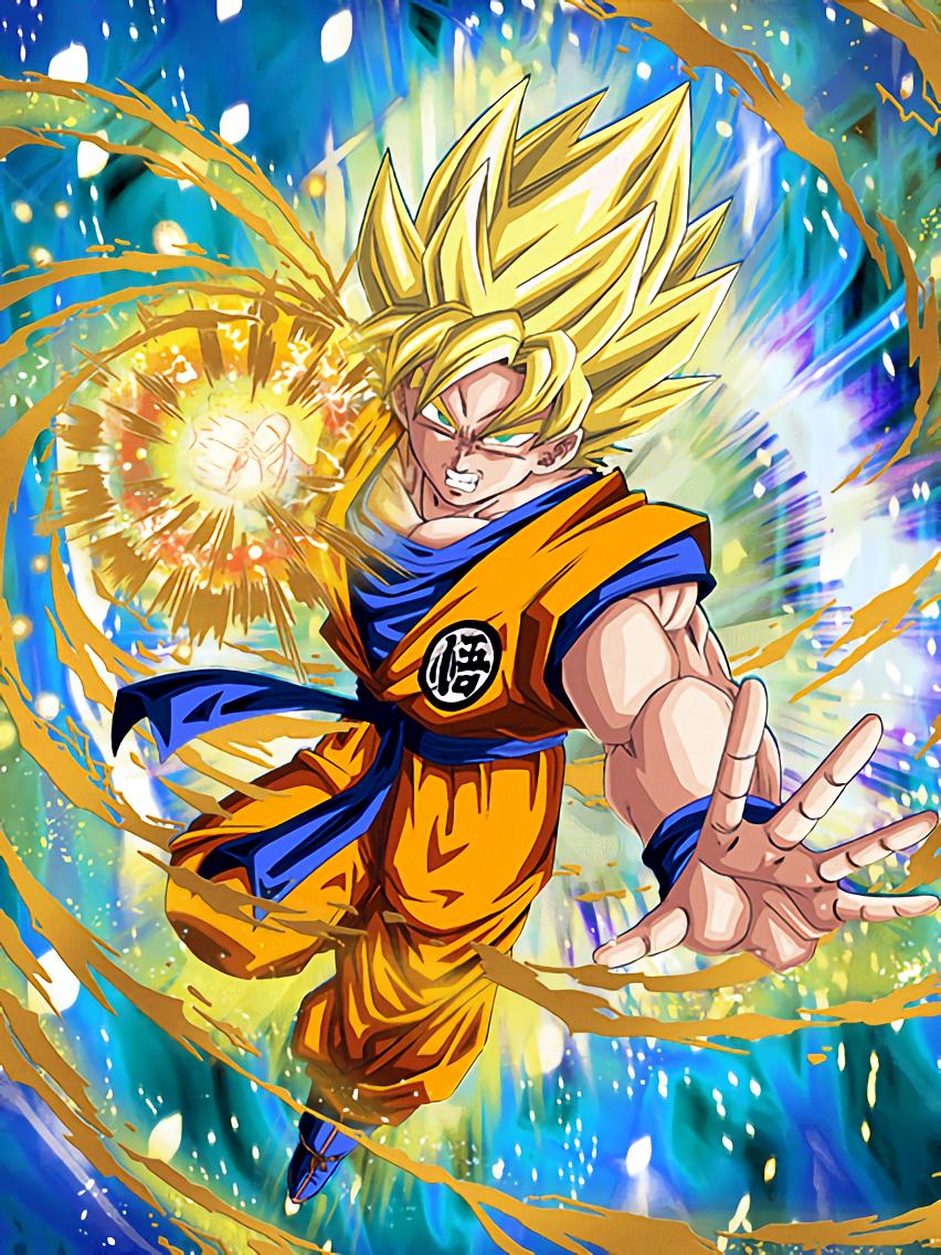 Convulsing Rage Super Saiyan Goku | Dragon Ball Z Dokkkan Battle