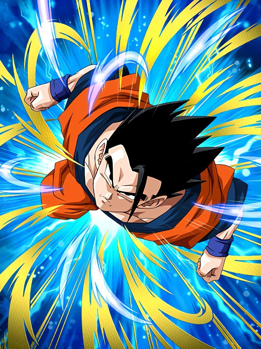 Leaps And Bounds Ultimate Gohan Dragon Ball Z Dokkan Battle