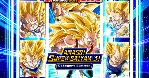 Amass super saiyan 3 category summon