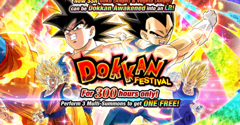 Goku (angel) & vegeta (angel) dokkan festival