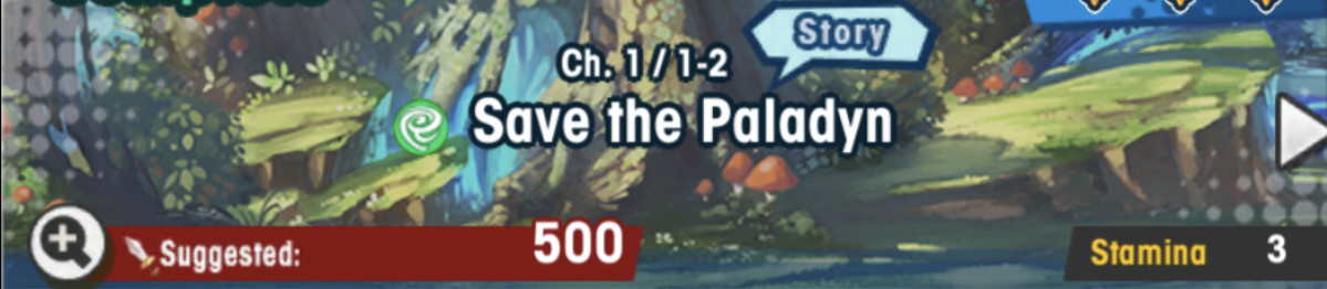 Chapter 1.1-2 Save The Paladyn