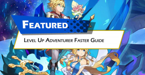 Level Up Adventurer Faster Guide