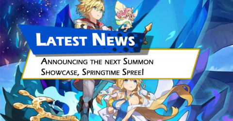 Announcing the Next Summon Showcase, Springtime Spree!