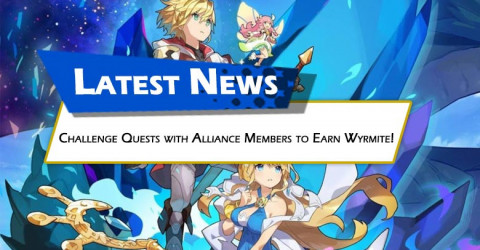 Challenge Quests with Alliance Members to Earn Wyrmite