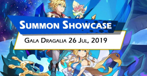 Gala Dragalia Summon Showcase (July 26, 2019)
