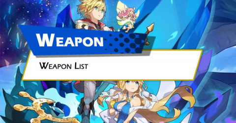 Weapons List