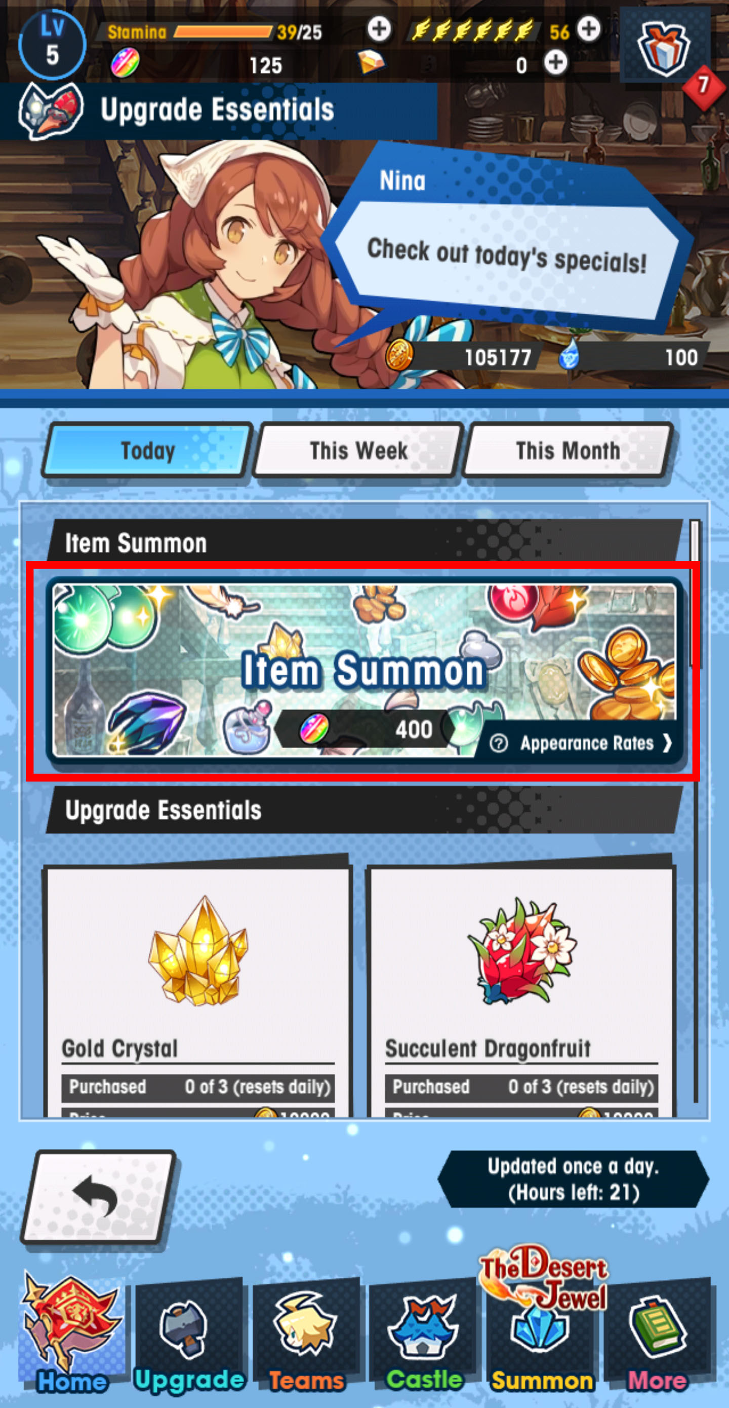 Summon items 3