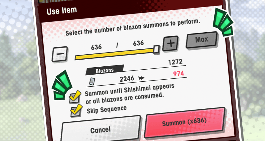 blazon-summon-usability-improvements