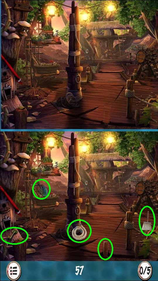 Answer Level 8 in Find The Differenes - zilliongamer your game guide