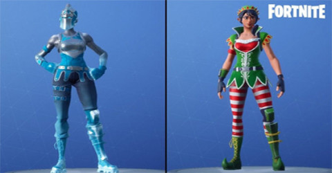 All v7.10 Fortnite Leaked Skins