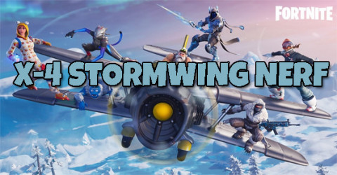 X-4 Stormwing Pilot Will be Nerf in Upcoming Patch