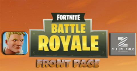 Front Page Fortnite BR