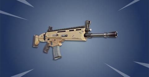 Fortnite Assault Rifle Weapon List