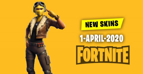Fortnite Skins Today's Item Shop 1 April 2020