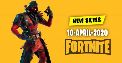 Fortnite Skins Today's Item Shop 10 April 2020