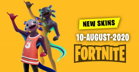 Fortnite Skins Today's Item Shop 10 August 2020