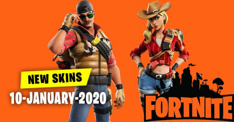Fortnite Skins Today's Item Shop 10th January 2020