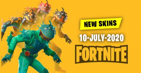 Fortnite Skins Today's Item Shop 10 July 2020