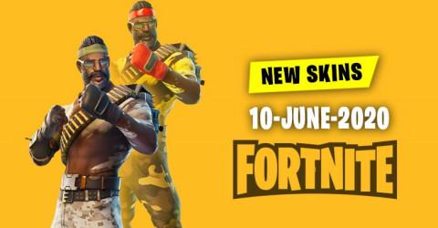 Fortnite Skins Today's Item Shop 10 June 2020