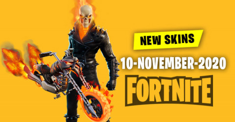 Fortnite Skins Today's Item Shop 10 November 2020