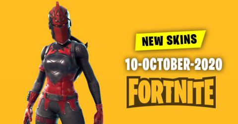 Fortnite Skins Today's Item Shop 10 October 2020
