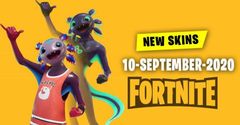 Fortnite Skins Today's Item Shop 10 September 2020