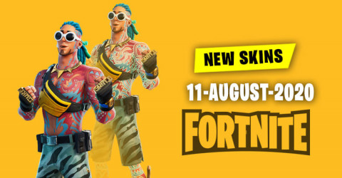 Fortnite Skins Today's Item Shop 11 August 2020