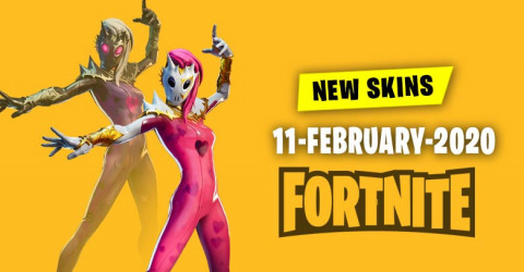 Fortnite Skins Today's Item Shop 11 February 2020
