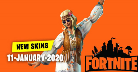 Fortnite Skins Today's Item Shop 11 January 2020
