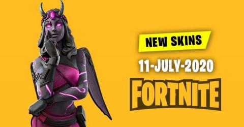 Fortnite Skins Today's Item Shop 11 July 2020