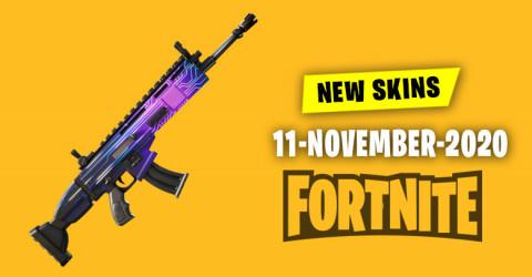 Fortnite Skins Today's Item Shop 11 November 2020