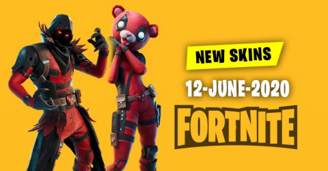 Fortnite Skins Today's Item Shop 12 June 2020