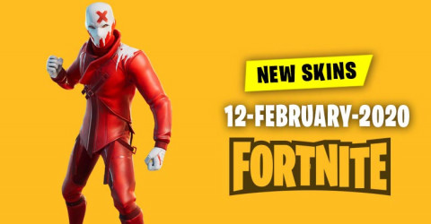 Fortnite Skins Today's Item Shop 12 February 2020