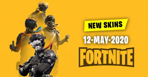 Fortnite Skins Today's Item Shop 12 May 2020