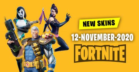 Fortnite Skins Today's Item Shop 12 November 2020