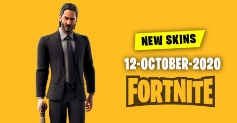Fortnite Skins Today's Item Shop 12 October 2020