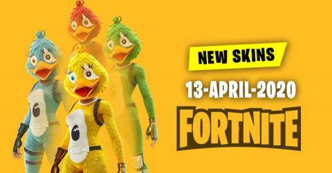 Fortnite Skins Today's Item Shop 13 April 2020