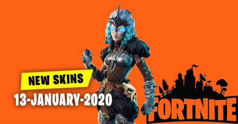 Fortnite Skins Today's Item Shop 13 January 2020