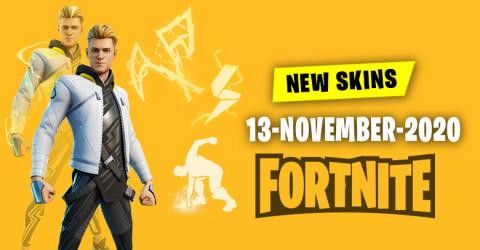 Fortnite Skins Today's Item Shop 13 November 2020