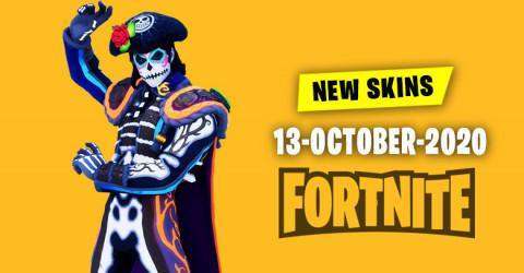 Fortnite Skins Today's Item Shop 13 October 2020