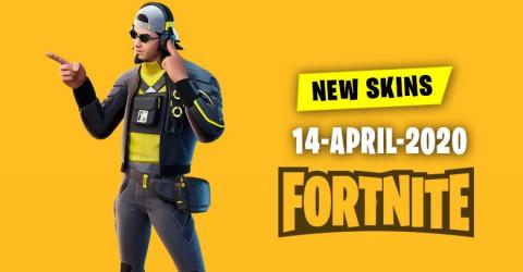 Fortnite Skins Today's Item Shop 14 April 2020