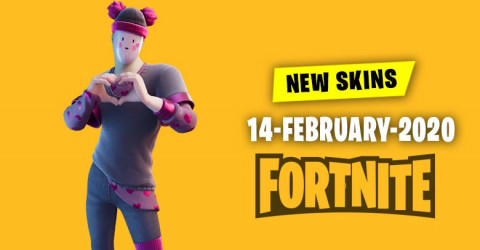 Fortnite Skins Today's Item Shop 14 February 2020