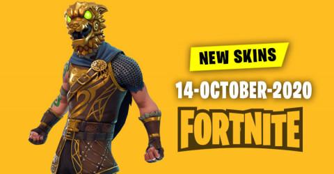 Fortnite Skins Today's Item Shop 14 October 2020