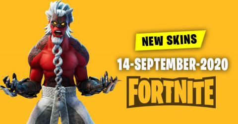 Fortnite Skins Today's Item Shop 14 September 2020