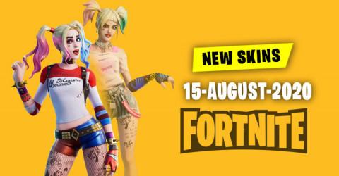 Fortnite Skins Today's Item Shop 15 August 2020