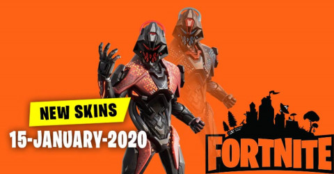Fortnite Skins Today's Item Shop 15 January 2020
