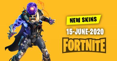 Fortnite Skins Today's Item Shop 15 June 2020