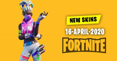Fortnite Skins Today's Item Shop 16 April 2020